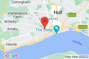 Hull University Teaching Hospital NHS Trust Library Service on the map
