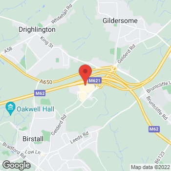 Map of wilko Birstall at Unit 5 Birstall Retail Park, Leeds,  WF17 9DT