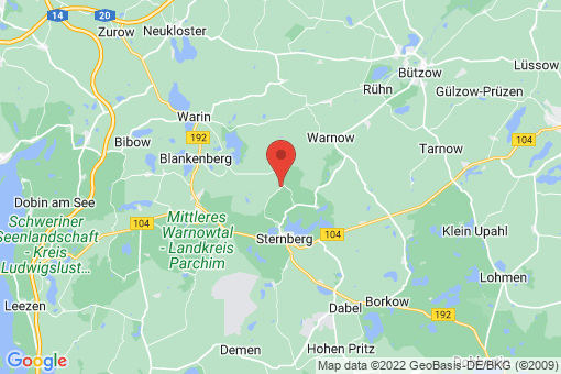 Karte Groß Görnow