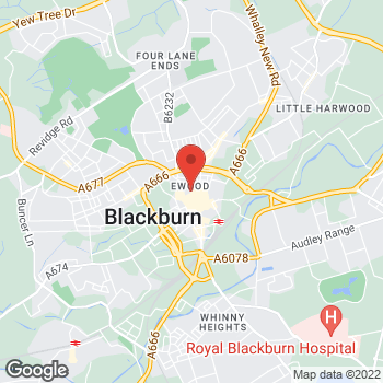 Map of wilko Blackburn at 56 King William Street, Blackburn,  BB1 7DP