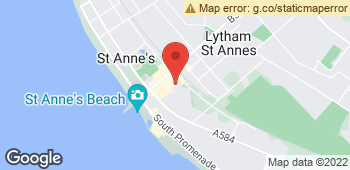 Map of Margarets Florist at 15 Wood Street, Lytham St. Annes, Lancashire FY8 1QS