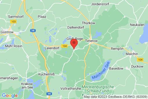 Karte Groß Wokern