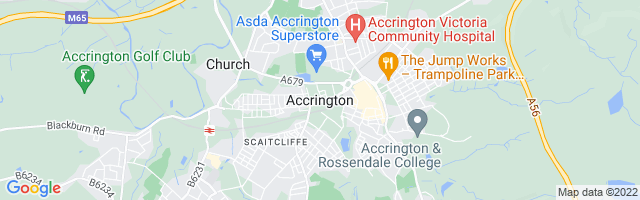 Map Of Accrington