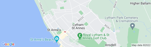 Map Of Lytham St. Annes