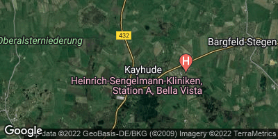 Google Map of Kayhude