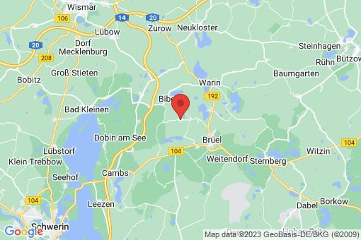 Karte Langen Jarchow