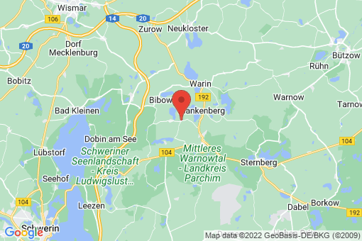 Karte Zahrensdorf