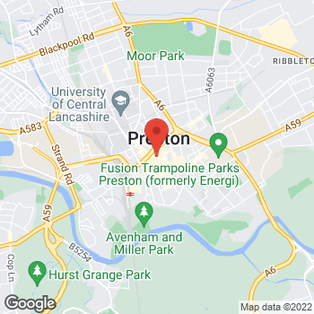 Map of wilko Preston at 162 - 165 Friargate, Preston,  PR1 2EJ