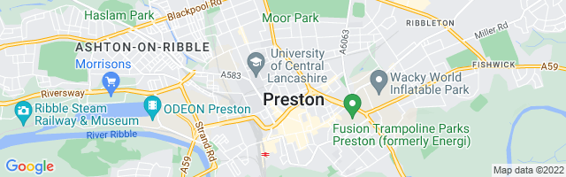 Map Of Preston