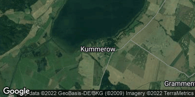 Google Map of Kummerow bei Malchin
