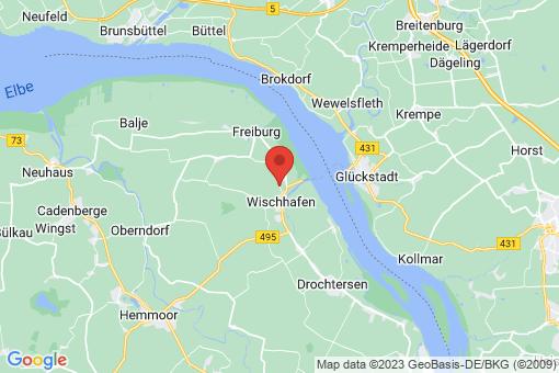 Karte Wischhafen