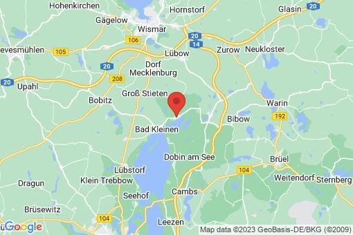Karte Hohen Viecheln