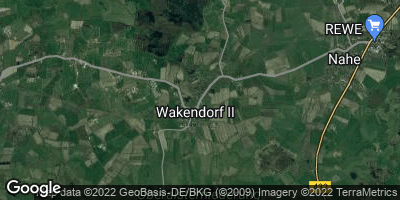 Google Map of Wakendorf