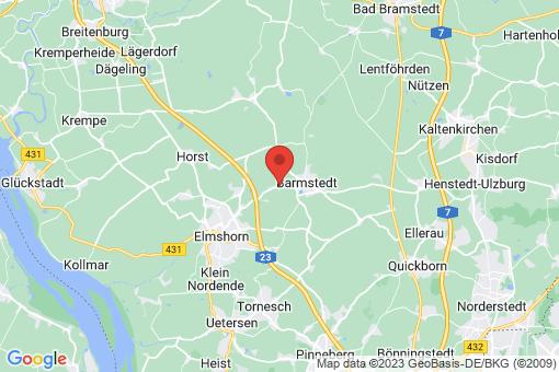 Karte Bokholt-Hanredder