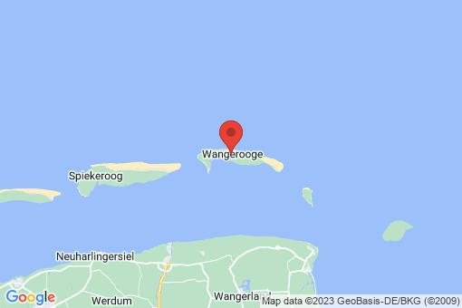 Karte Wangerooge