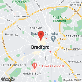 Map of wilko Bradford at Rawson Quarter, Bradford,  BD1 3QQ