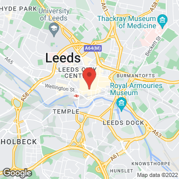 Map of Burger King at 71 Boar Lane, Leeds,  LS1 6HW