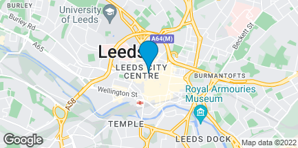 Map of 99/103 Albion Street in Leeds