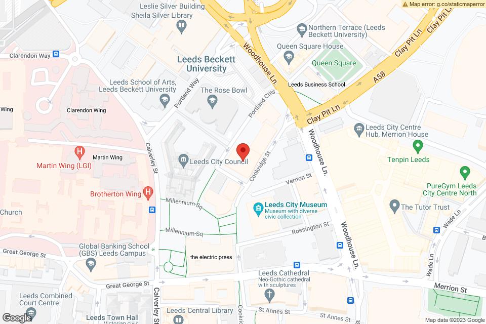 55 Cookridge St, Leeds, LS2 3AW map