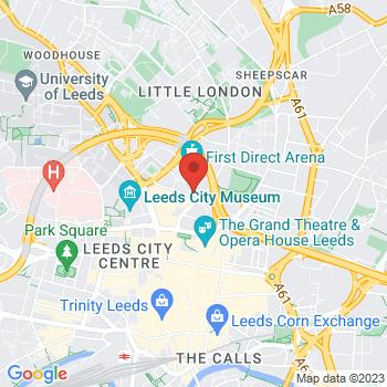 Google Map of Leeds