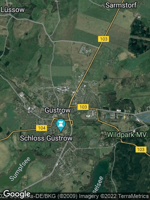 Google Map of Güstrow