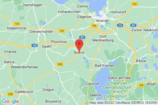 Karte Bobitz