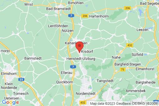 Karte Henstedt-Ulzburg