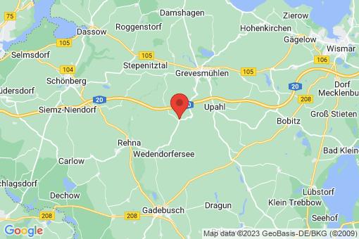 Karte Hanshagen