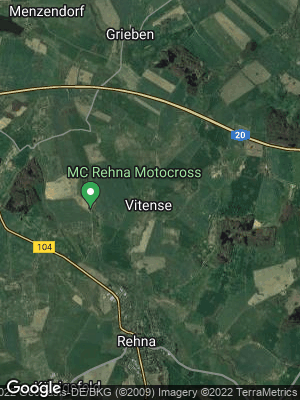 Google Map of Vitense bei Rehna
