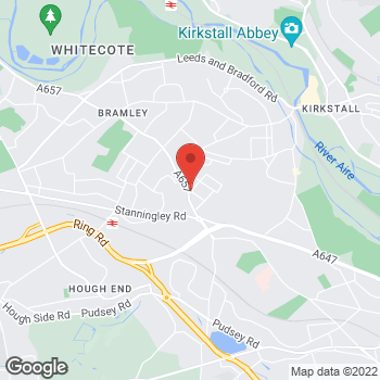 Map of Bargain Booze Plus Aston Road at 1-3 Aston Road, Leeds, West Yorkshire LS13 2BH