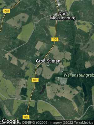 Google Map of Groß Stieten
