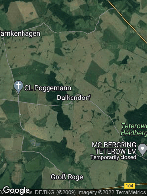 Google Map of Dalkendorf