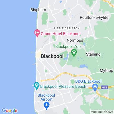 Stanley Park, Blackpool Location