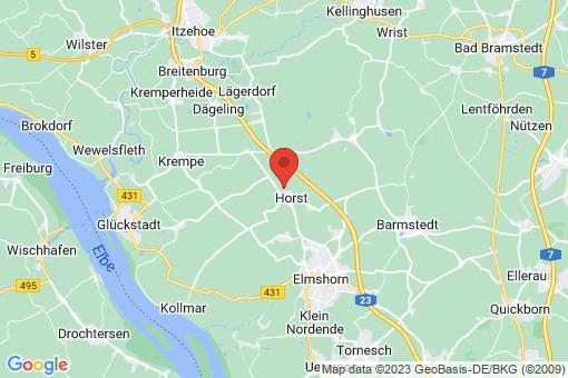 Karte Horst (Holstein)