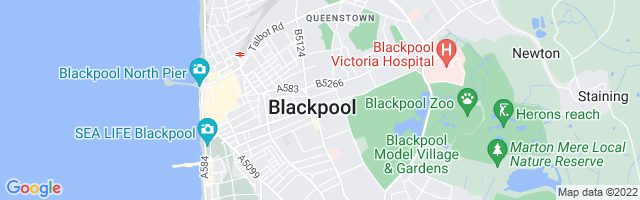 Map Of Blackpool