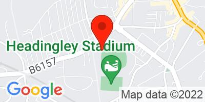 Map of Headingley Stadium