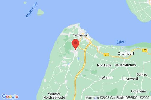 Karte Cuxhaven