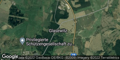 Google Map of Glasewitz