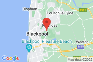 Blackpool Teaching Hospitals Library and Knowledge Service on the map