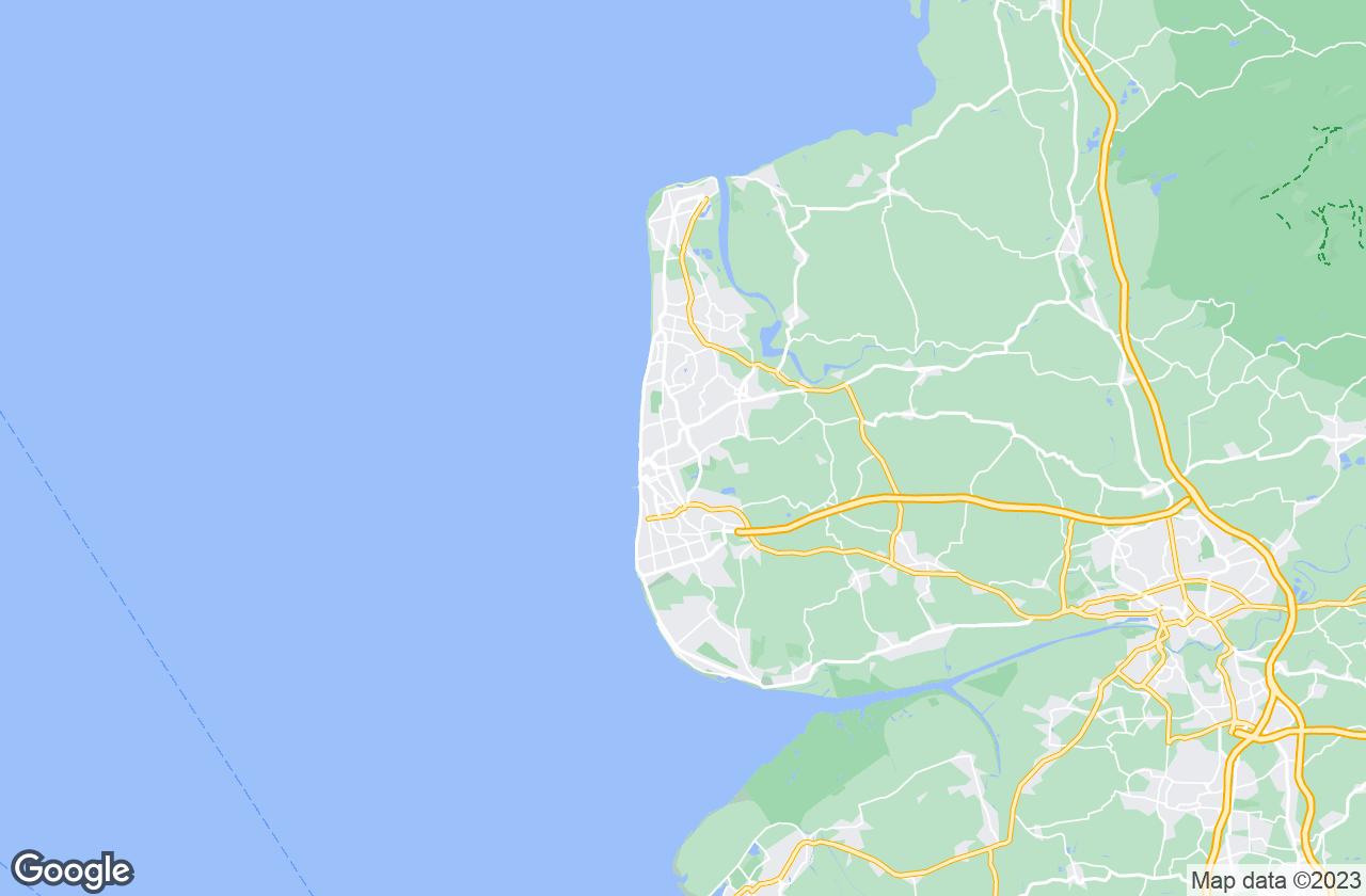 Google Map of بلاكبول