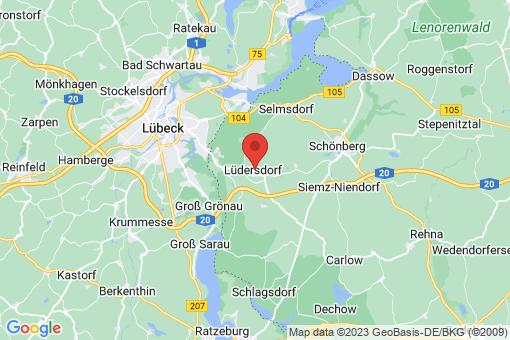 Karte Lüdersdorf