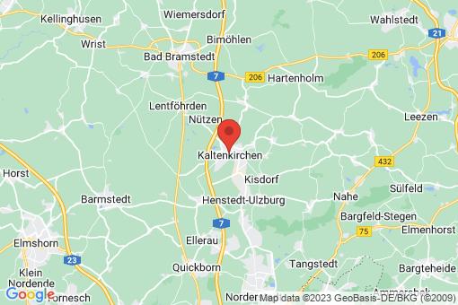 Karte Kaltenkirchen
