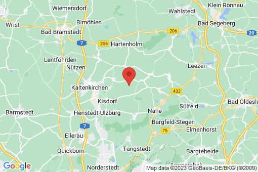 Karte Hüttblek