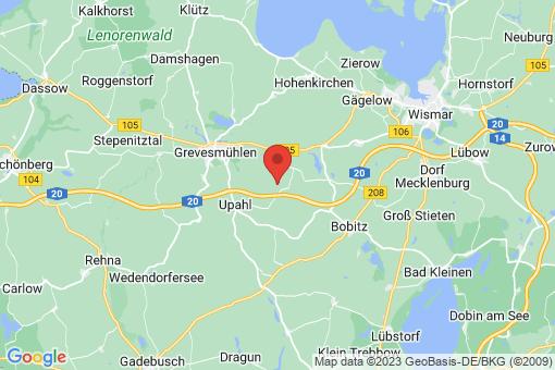 Karte Plüschow