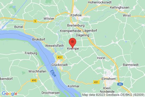 Karte Krempe