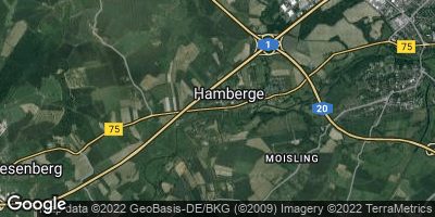 Google Map of Hamberge