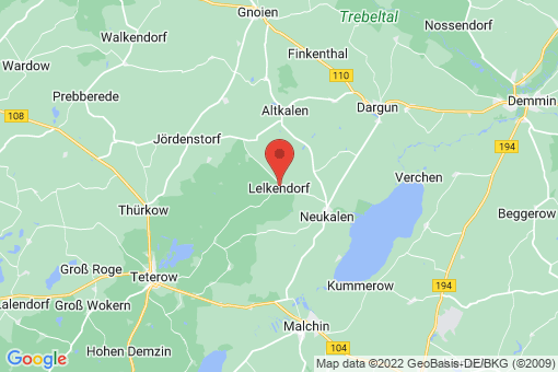 Karte Lelkendorf