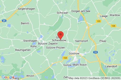 Karte Groß Schwiesow