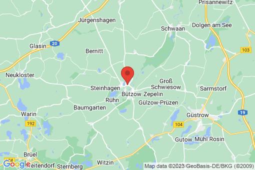 Karte Bützow