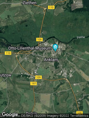 Google Map of Anklam
